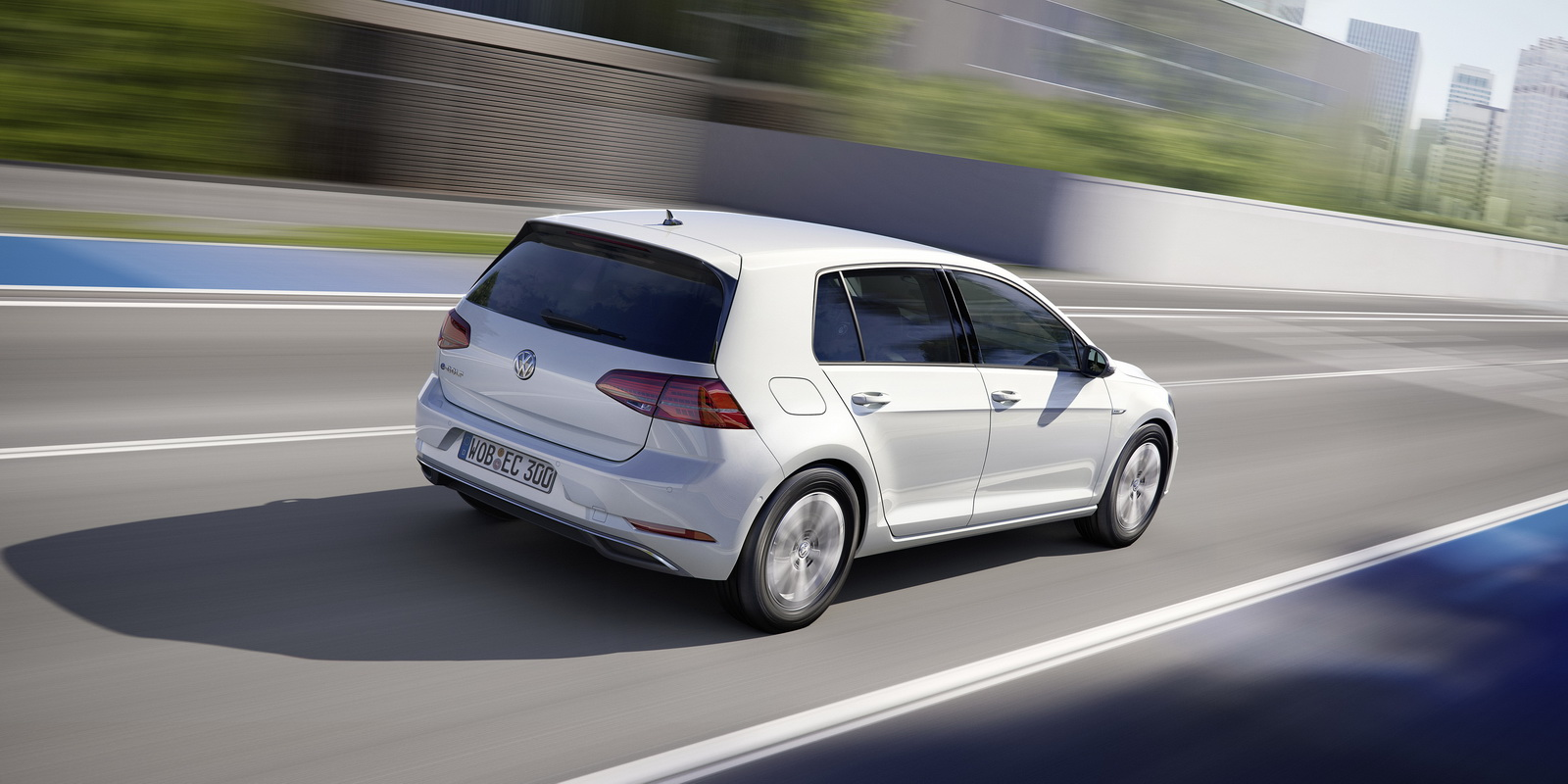 Electric Motor Manufacturer Volkswagen E Golf Labeled Diagram Of A Ship New Vw Becomes More Usable With Longer