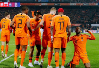 Georginio Wijnaldum and Memphis Depay scores as Holland overcimes France 2-0 on Friday night which see's Germany relegated from the tough Nations League group.