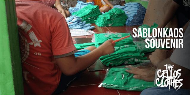 Sablon Kaos Souvenir Murah - Sablon Kaos Oleh Oleh Murah
