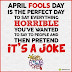 Funny April Fool Sms in Hindi 2015 Wishes