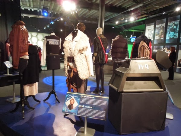 Doctor Who Experience costume exhibit