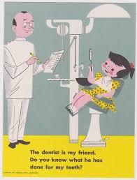 vintage dentist illustration, dokter gigi di samarinda