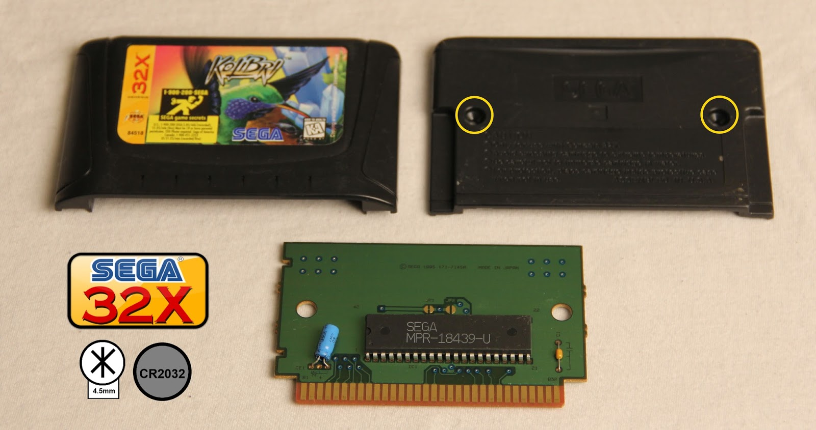 how to change the battery in a gameboy colour cartridge