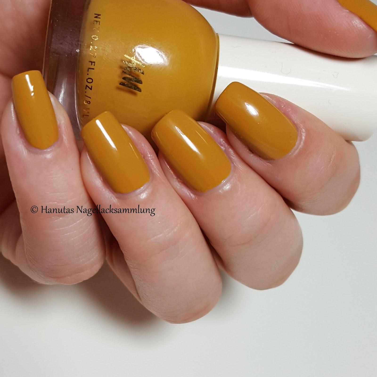 How To Make Mustard Yellow Nail Polish