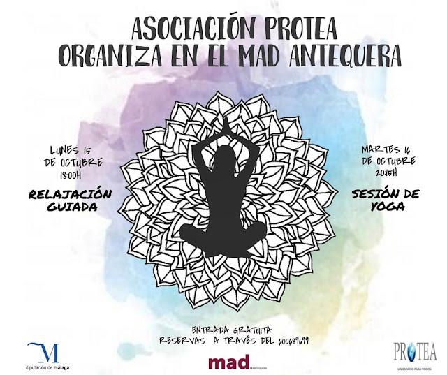 Relajación Guiada y Yoga en el MAD de Antequera