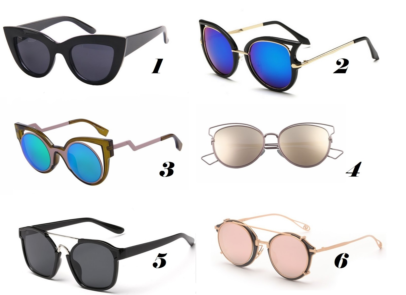 47693522835db It Guél  8 tendências de óculos de sol no AliExpress
