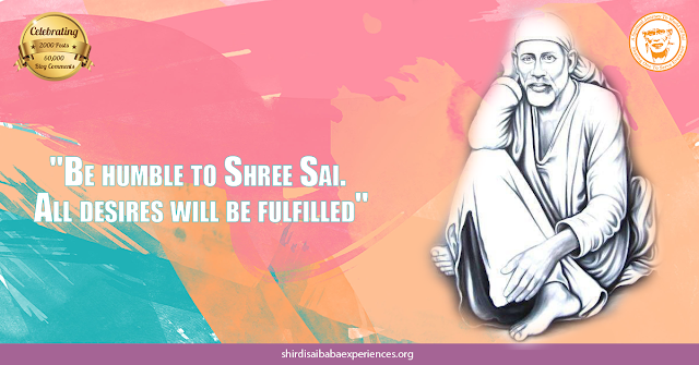 Shirdi Sai Baba Blessings - Experiences Part 2554