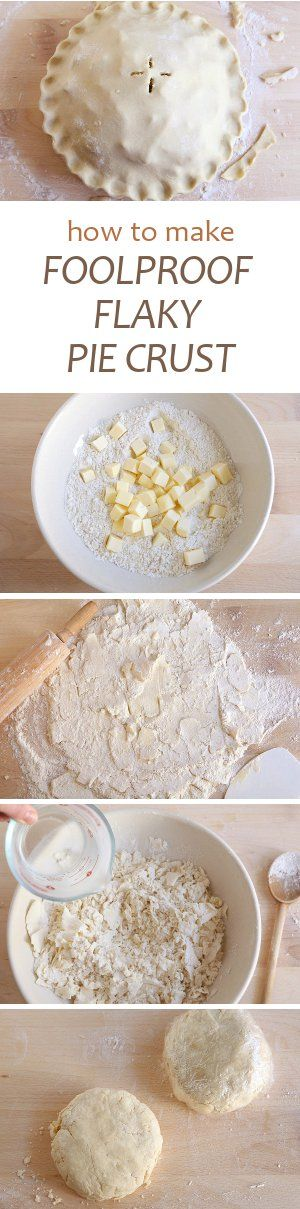 FOOLPROOF FLAKY PIE CRUST
