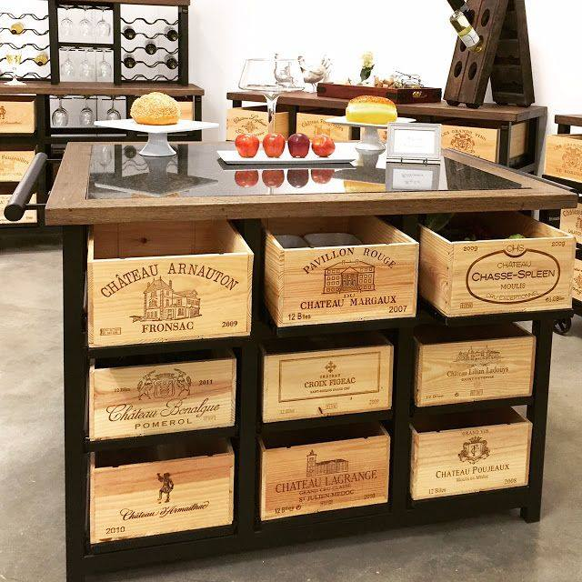 reutilizar caixotes de madeira cozinha gaveteiro organizador