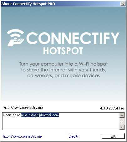 Download Connectify Hotspot Pro 4 3 3 Full Version Free +