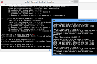 Cara Mengatasi Debian di VirtualBox Tidak Bisa Ping ke Windows 2