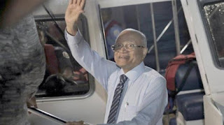 Maldives: Former President Gayoom rescues after losing his brother's election