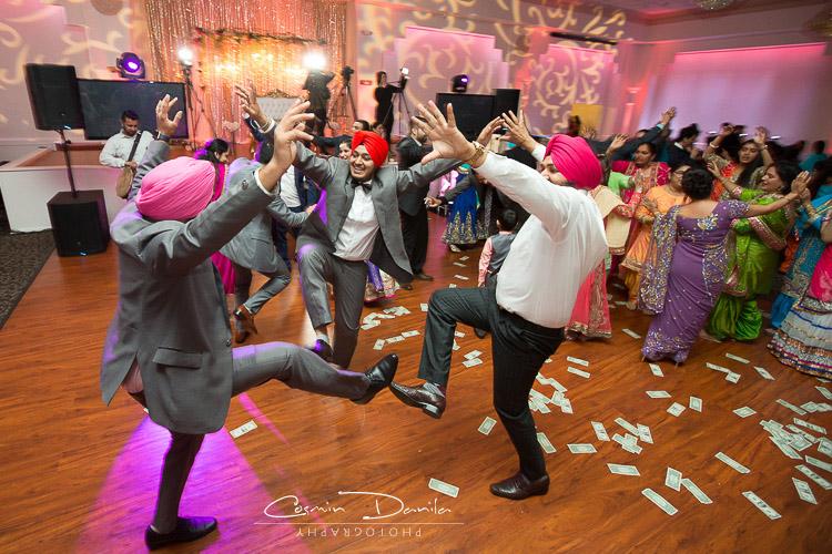Bay Area Sikh Punjabi Wedding Photography California Indian Marriage Pictures Paradise Ballroom Fremont Reception