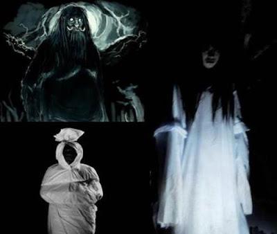 penampakan hantu terseram di dunia nyata