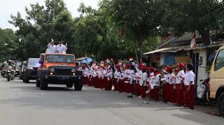 Diarak Keliling ke Desa-Desa, Anugerah Adipura ke-10 Disambut Warga