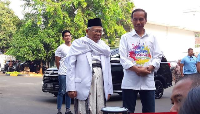 Pasangan Jokowi-Ma'ruf Akan Jalani 14 Tahap Tes Kesehatan