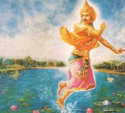Sage Vishwamitra and Indra