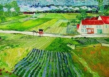 Винсент Ван Гог «Пейзаж в Овере»