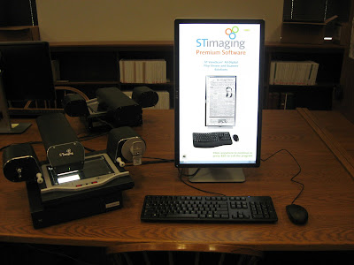 Digital Microfilm Scanner