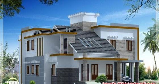 1900 Sq Feet Modern Contemporary Mix Home Design Home