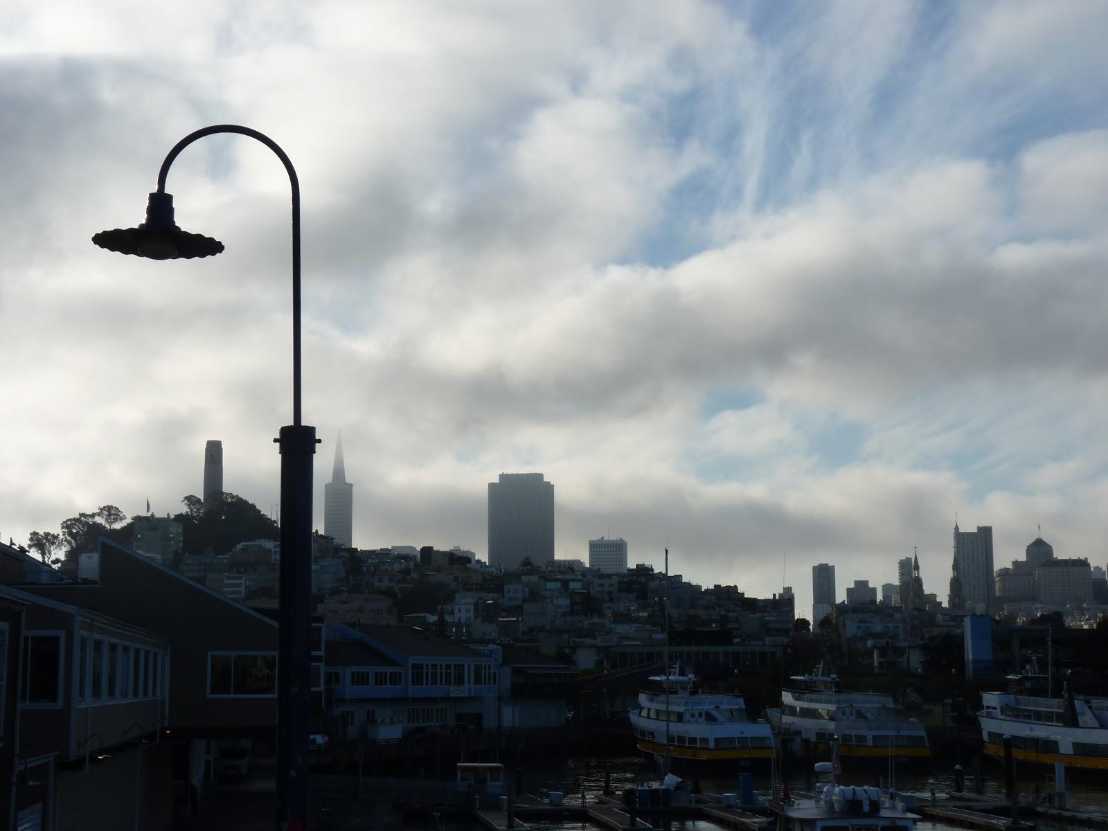 Vue sur la ville, San Francisco