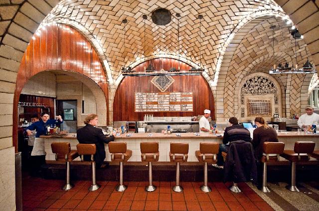 Informações do Oyster Bar na Grand Central Station em Nova York: