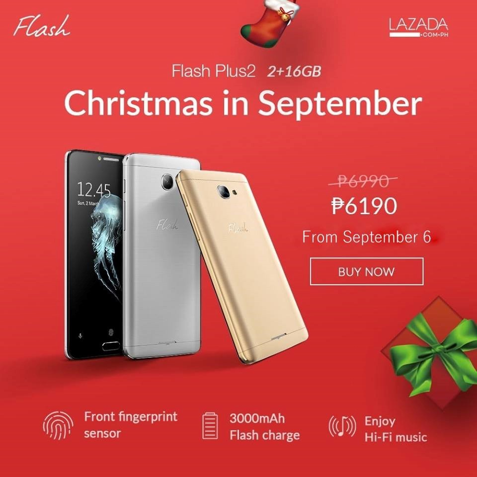 Flash Philippines Christmas Sale this September