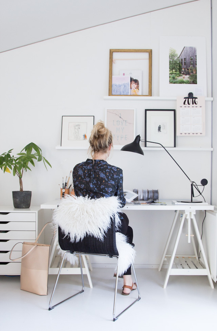 My Scandinavian Home Before After My Office Make Over