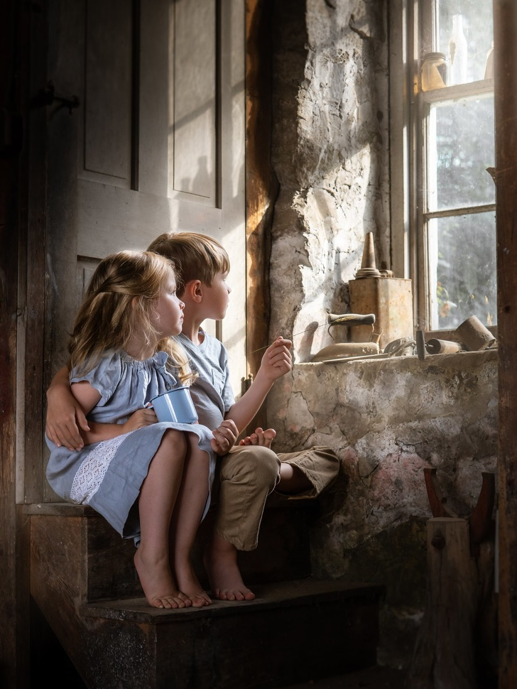 A Photographer Transformed Her Children's Lives Into A Beautiful Fairytale