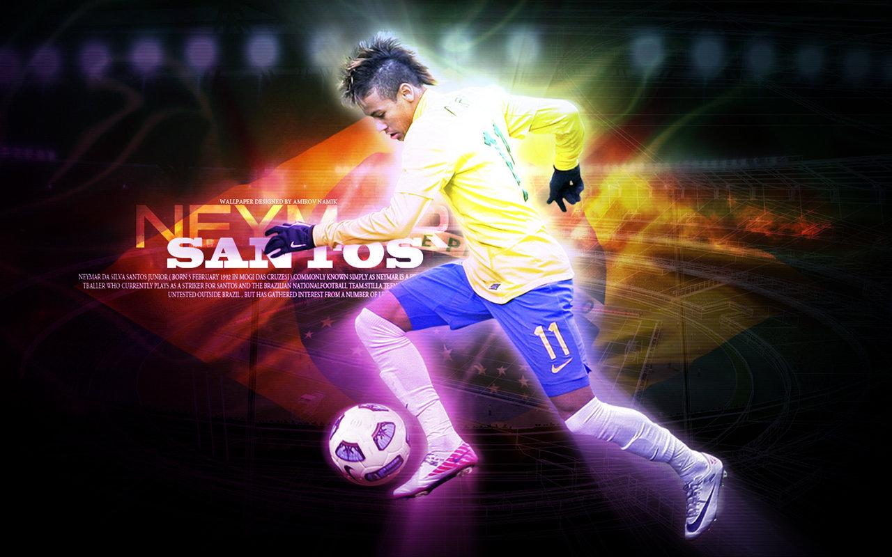 Hd Images Of Neymar: Football Wallpapers: Neymar Wallpapers