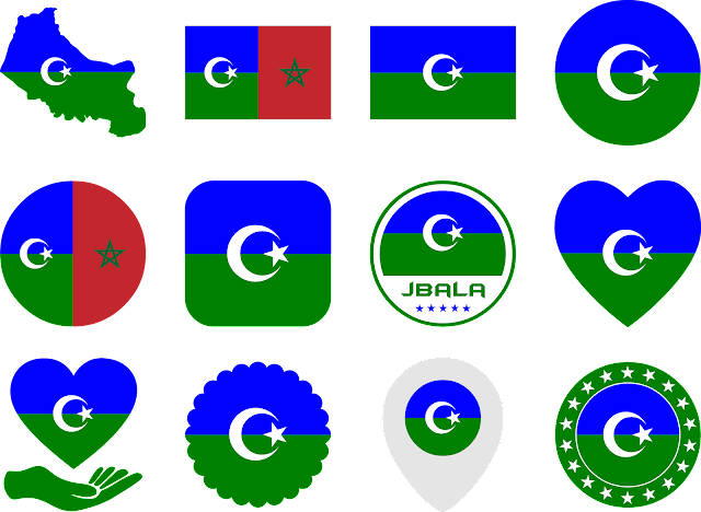 download icons jbala maroc tanger tetouan chefchaouen larache assilah taounate ouezzane ksar el kabir fnideq mdiq svg eps png psd ai vector free #jbala #maroc #flag #morocco #tanger #tetouan #larache #vector #assilah #taounate #mdiq #vectors #country #icon #logos #icons #flags #photoshop #illustrator #symbol #design #maps #shapes #button #frames #buttons #ouezzane #fnideq #science #map