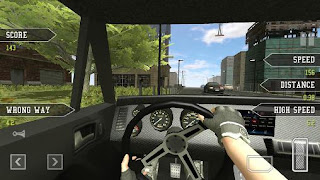 Screenshots of the Highway traffic driving for Android tablet, phone.