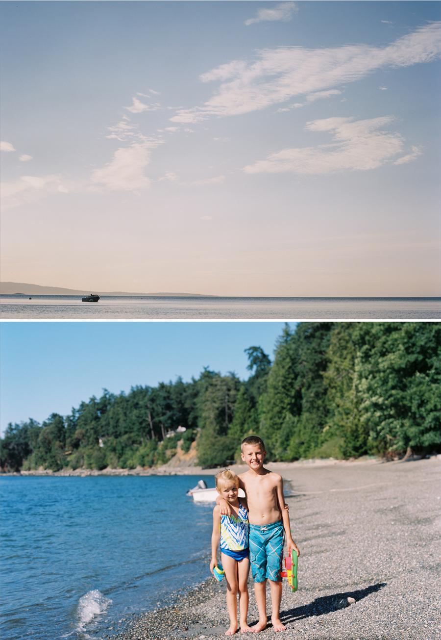Puget Sound, Orcas island,