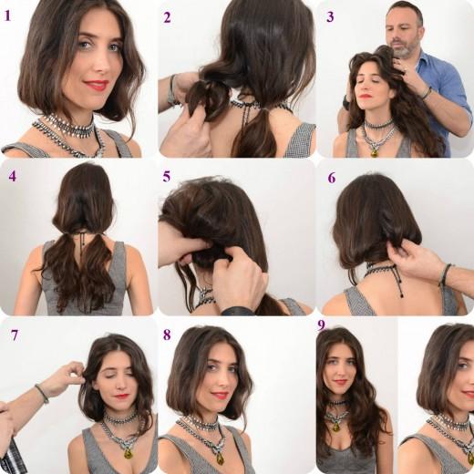 Swell Quick Amp Easy Bob Haircut Tutorial 2015 Women Medium Bob Hair How Short Hairstyles For Black Women Fulllsitofus