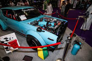 1973 Nissan Skyline GT-R at Qatar Motor Show