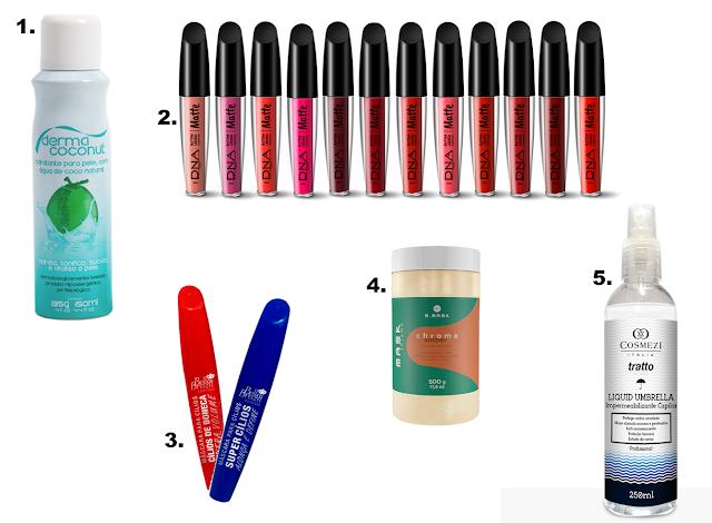 10 lançamentos incríveis de beleza da Beauty Fair