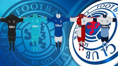 PES 2013 Glasgow Rangers 2016 GDB Kits by Teopero