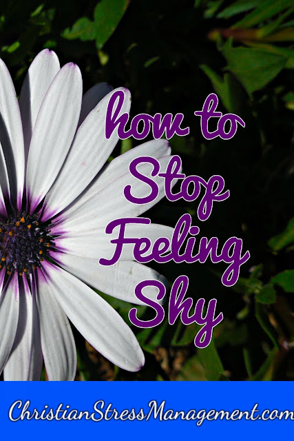 How to stop feeling shy