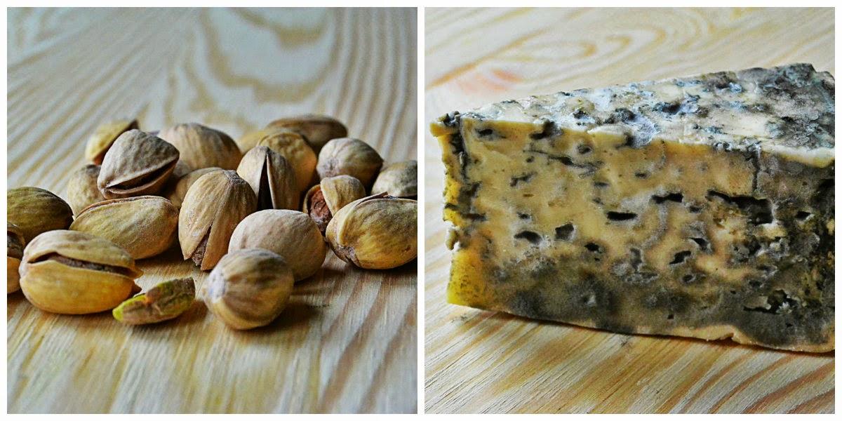 Sałatka z serem pleśniowym i awokado - składniki