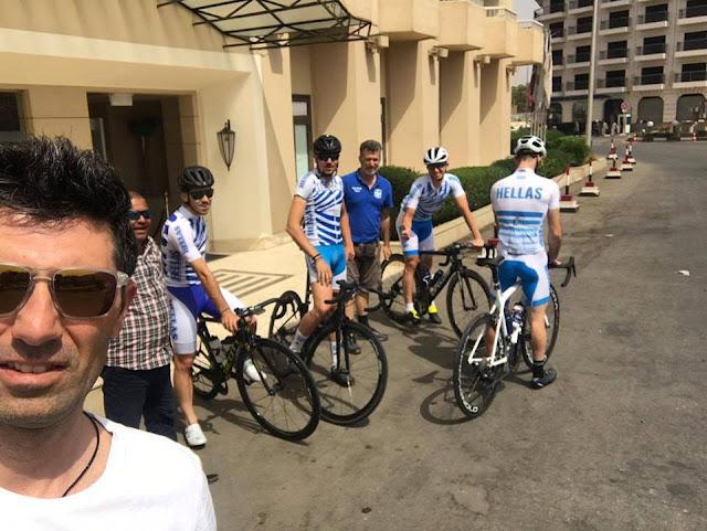 Πρεμιέρα με 1η θέση για τον Τζωρτζάκη στον Διεθνή Ποδηλατικό Γύρο Αιγύπτου