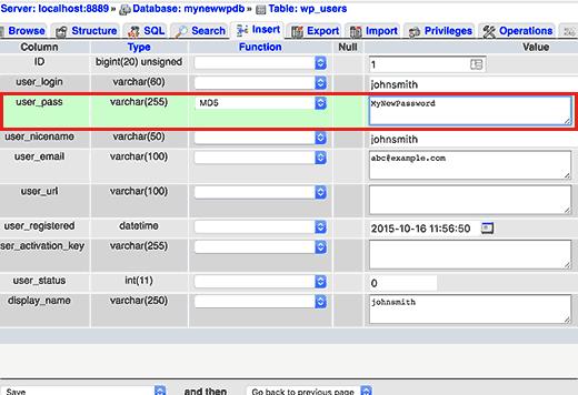 How to Reset WordPress Admin Password on Cpanel or Local Host. Step 2B4 2Buserpass 2B  2Bfor 2Breset 2Byour 2Bwordpress 2Badmin 2Bpassword