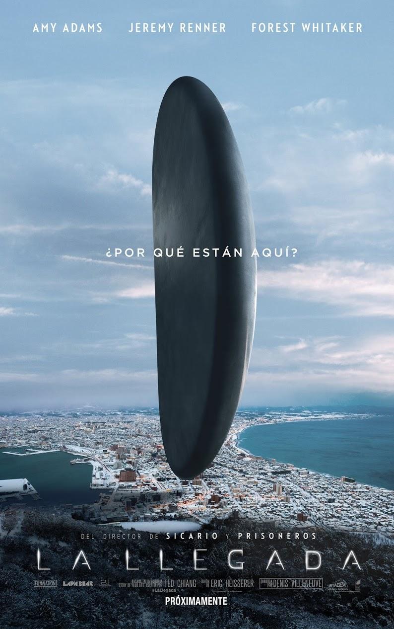 LA LLEGADA (Arrival) - poster película España