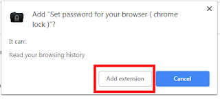 chrome browser me password kaise lagaye