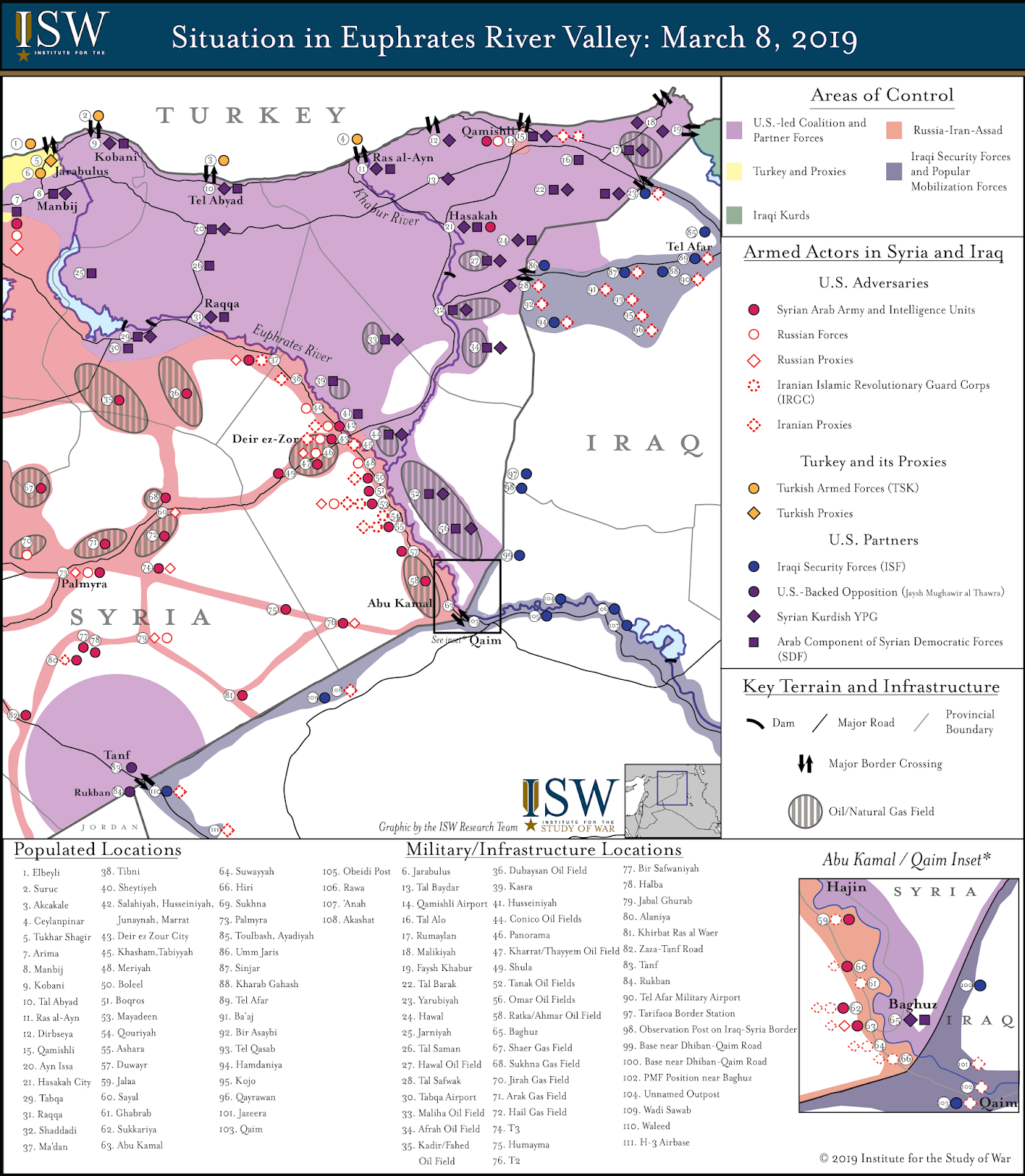 Disposition of Adversary and Friendly Forces in Eastern ...