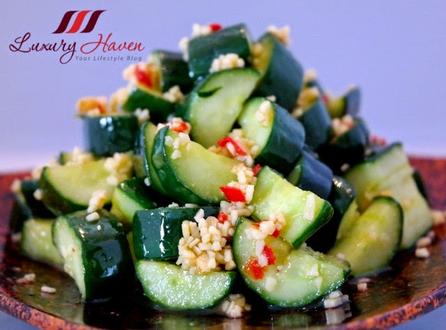 crunchy japanese cucumber appetizer recipe