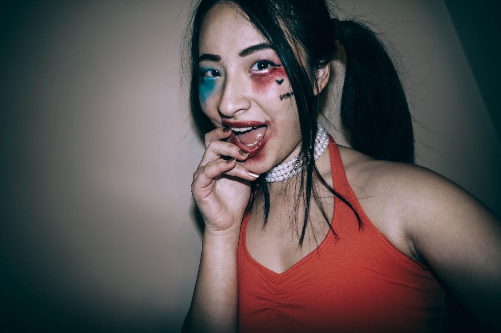 SUICIDE SQUAD: Harley Quinn Joker Makeup