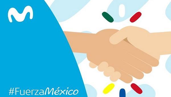 Movistar ofrece servicio de mensajes internacionales gratis para los venezolanos hacia México tras terremoto de 7.1