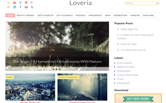 Loveria Responsive template