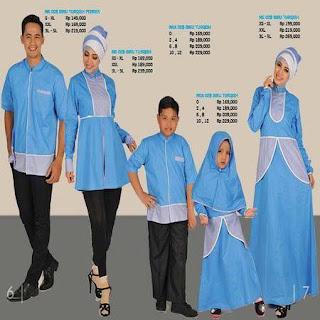 model baju lebaran keluarga besar