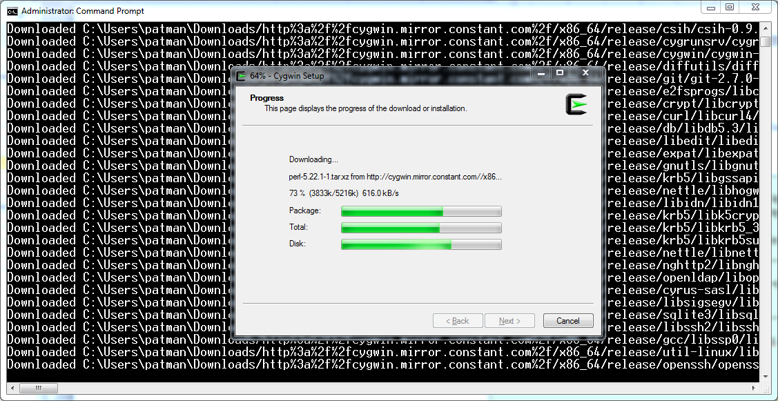 WhiteBoard Coder: Fixing Cygwin speed issues